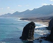 Die Küste von Fuerteventura
